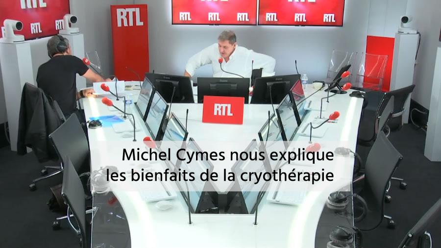 Michel Cymes nous explique les bienfaits de la cryothérapie