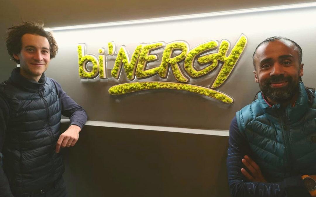 bi'NERGY centre de cryothérapie à Lyon partenaire d'un défi sportif en Ultra-trail
