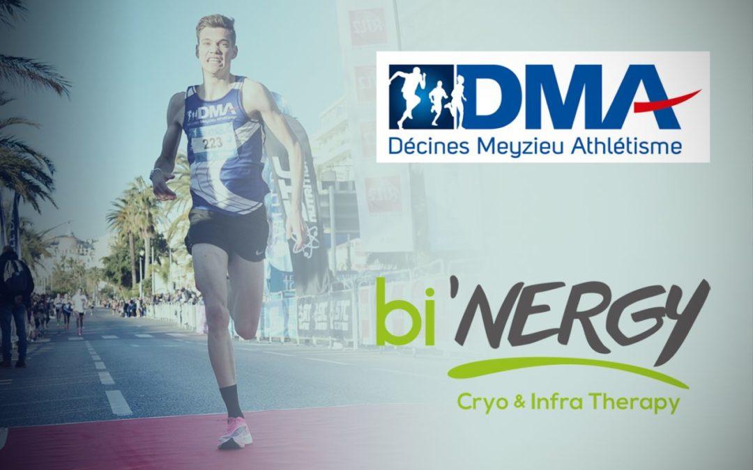 Contrat de partenariat bi'NERGY Décines Meyzieux Athlétisme